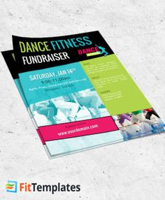 Gym Flyer Template Warrior Gym   Fitness Flyer Ideas