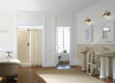 This is the project I created on Behr.com. I used these colors: STATUESQUE(MQ3-23),DUTCH WHITE(MQ3-31),PASHA BROWN(MQ2-51),CRISP LINEN(MQ3-13),