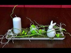 Jak zrobić STROIK WIELKANOCNY ze świecą? ZAJĄC NA ZIELONEJ TRAWCE ;) - YouTube