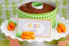 Carrot Cake ~ Easter