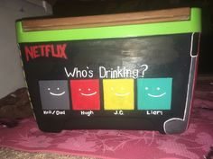 netflix cooler … – Ideas – Home crafts Diy Cooler, Coolest Cooler, Beer Table, Beer Pong Tables, Netflix, Formal Cooler Ideas, Bubba Keg, Frat Coolers, Painted Fraternity Coolers