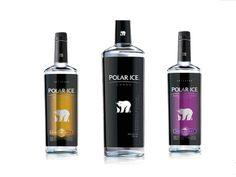 Polar Ice Vodka.  Love this : )