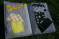 Livre des couleurs by Petite Yuna: jaune et noir