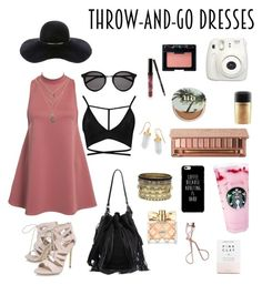 """""""Easy go to dress"""" by kathrynjmyer on Polyvore featuring NLY Trend, Yves Saint Laurent, BillyTheTree, Daytrip, Kylie Cosmetics, NARS Cosmetics, Urban Decay, MAC Cosmetics, Carvela and Loeffler Randall"""