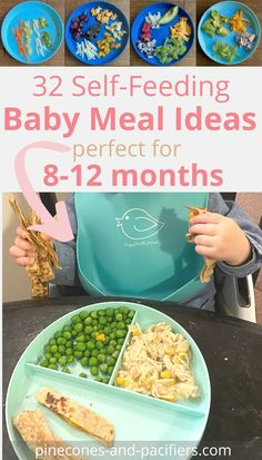 I'm a mom of 2 sharing our experience of starting solids and some of our self-feeding food ideas for beginner eaters. These meals ideas are what my sons ate from about 8-12 months when they were just beginning to eat solid foods.