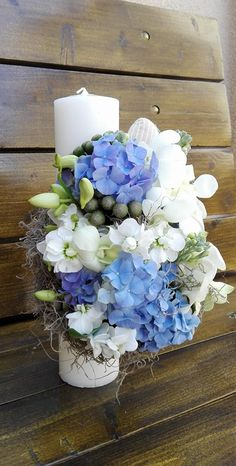 Christening, Floral Wreath, Wreaths, Table Decorations, Flowers, Wedding, Home Decor, Craft, Celebration