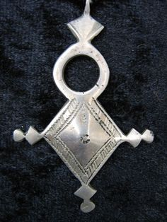 Handcrafted silver Tuareg jewelry