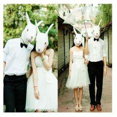 Latex-Horse-Head-Mask-Unicorn-Pigeon-Chicken-Rabbit-Theatre-Prop-Halloween-Party