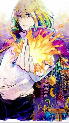 Wizard Howl from Howl's Moving Castle. Manga Anime, Film Anime, Anime Art, Howl's Moving Castle, Studio Ghibli Art, Studio Ghibli Movies, Hayao Miyazaki, Howl Pendragon, Howl And Sophie