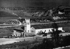 1920's Malaga Cove School in Palos Verdes California.