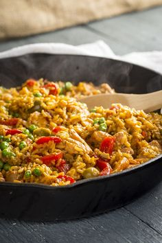 #ad 20-minute one-pot Arroz con Pollo plus a $100 giveaway from Success Rice #sk