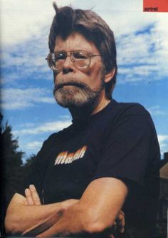 Photo de Stephen King King Of Kings, My King, Steven King Quotes, Great Books, My Books, Literary Heroes, King Picture, Stephen King Books, King Of My Heart