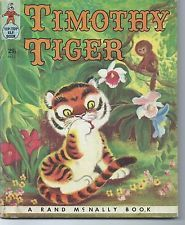 Timothy Tiger - Rand McNally Tip-Top Elf Book #8672