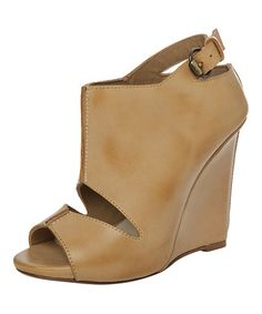 Another great find on #zulily! Tobacco Ecru Leather Sandal by Maxstudio.com #zulilyfinds