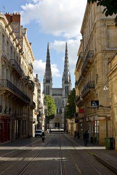Bordeaux, Saint-André Cathedral, France.