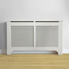Richmond Radiator Cabinet Smooth White - x x at Homebase -- Be inspired and make your house a home. Buy now. White Radiator Covers, Living Room Heater, Decorative Radiators, Bathroom Radiators, Entrance Decor, Cabinet Furniture, Decoration, New Homes, Living Room