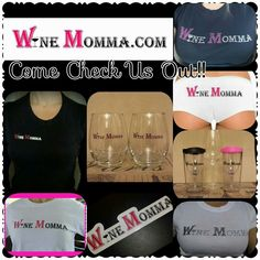 For all the Ladies that love wine! Here's your way to show it! winemomma.com