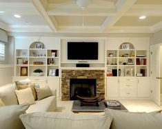 great basement/family room idea