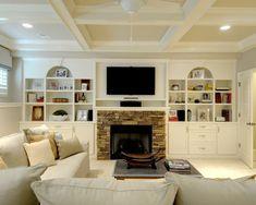 great basement/family room idea