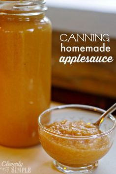 It's easy to can homemade applesauce when you follow these easy steps! Delicious applesauce that you made at home is such a gratifying thing to make!