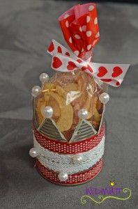 Geschenk 1. Advent * Sophie von LalaSophie an Irene von Widmatt * Apfelringe