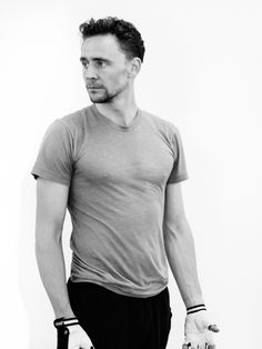 Tom Hiddleston in training for Coriolanus fight scenes. Edit by jennphoenix http://maryxglz.tumblr.com/post/151972758607/jennphoenix-processed-with-photoshop-cc