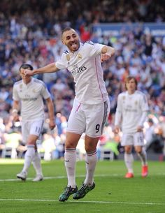 The win over Rayo Vallecano was Karim's 200th win with Real Madrid