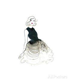 Dior does Ombre Gicléedruk van Jessica Durrant bij AllPosters.nl