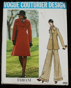 Vogue Couturier Design 2925 Fabiani of Italy by EleanorMeriwether