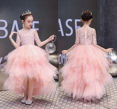 Modern Blush Pink Ball Gown Flower Girls Dresses F Flower Girls, Flower Girl Dresses, Evening Dresses Online, Girls Pageant Dresses, Princess Girl, Infant Girls, Communion Dresses, Formal Prom, Toddler Dress