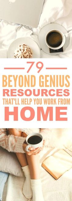 These 79 resources to help you work form home are THE BEST! I'm so glad I found…
