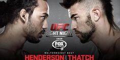 Assista vídeo da luta entre Henderson vs Thatch UFC Fight Night 60