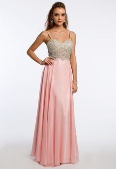 Pearl Circle Bead Dress #camillelavie #CLVprom