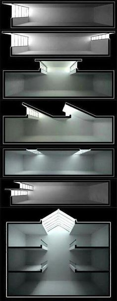 Natural Lighting Architecture 39 New Ideas Light Architecture, Architecture Drawings, Architecture Details, Interior Architecture, Architecture Diagrams, Natural Architecture, Study Architecture, Sections Architecture, Sustainable Architecture