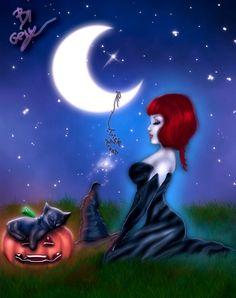 Preparations for Halloween by Sinphie.deviantart.com on @deviantART
