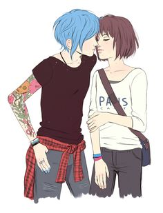 Life is Strange- Max and Chloe