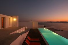 Paros, Cyclades Islands, Greece. Colourful and Modern, a Villa designed for Sunsets