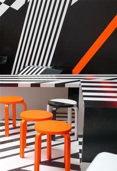 bar tobias rehberger cafe bar kantine pinterest einfache linien. Black Bedroom Furniture Sets. Home Design Ideas