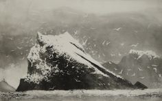 The Rumblings, Muckle Flugga, Shetland by British artist Norman Ackroyd RA, CBE Landscape Drawings, Architecture Drawings, Landscape Art, Landscape Paintings, Norman Ackroyd, Etching Prints, Black And White Painting, Am Meer, Modern Artists