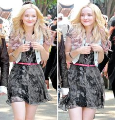 Dove on the set of the music video 'Believe'