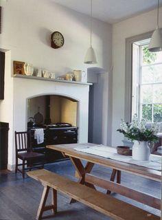 "robert-hadley: ""The World of Interiors, February Photo - Jan Baldwin "" Home Design, Interior Design, Interior Colors, Interior Paint, Room Interior, Interior Ideas, Interior Inspiration, Kitchen Interior, Kitchen Design"