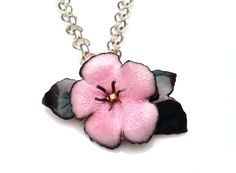 Enameled Wild Rose p