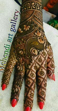 If you are looking for a bridal mehndi design for your wedding, then check out these top 30 mehndi images for some inspiration. All types of mehndi in Chhindwara design is a busy task that every bride has to do before her wedding. Dulhan Mehndi Designs, Wedding Mehndi Designs, Unique Mehndi Designs, Beautiful Mehndi Design, Latest Mehndi Designs, Mehndi Designs For Hands, Henna Tattoo Designs, Unique Henna, Henna Tattoos