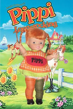Pippi Longstocking doll. Always selling quality Vintage Dolls & Toys! smitti257@aol.com