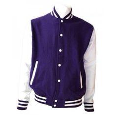 purple varsity jacket - wannt ❤