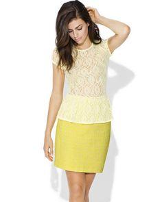 Lemon and lace