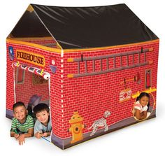 Fire House Tent by Pacific Play Tents - $89.95