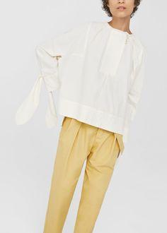 organic cotton blouse