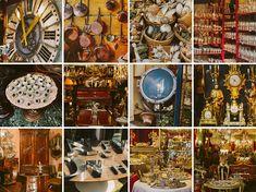 Antique shopping at the Marché aux Puces de Saint-Ouen in Paris, Europe