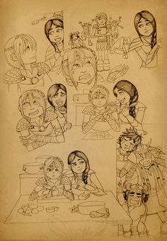 Cooking time on the Edge!:D    How many girls are good in cooking at the age of fifteen (particularly if they live with their parents)? For this years on the Edge Astrid can improve her cooking skills. Especially in the key her friendship with Heather:) #RTTE #HTTYD #somethoughts